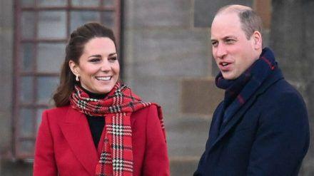 Prinz William und Herzogin Kate ziehen beruflich um. (ili/spot)
