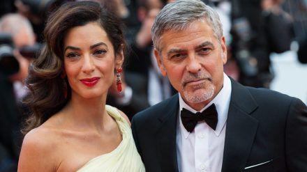 Amal und George Clooney beim Filmfestival in Cannes 2016 (jom/spot)