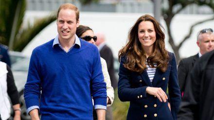 """Herzogin Kate und Prinz William sind """"völlig vernarrt"""" in ihren neuen Hund. Array"""