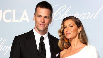 Tom Brady und Gisele Bündchen gemeinsam auf dem roten Teppich bei einer Gala in Los Angeles (hub/spot)
