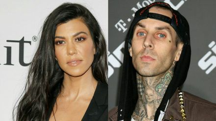 Kourtney Kardashian und Travis Barker sollen anbandeln (rto/spot)