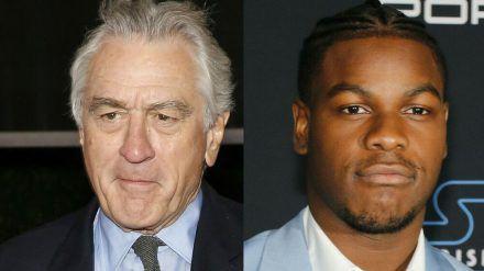 Aufeinandertreffen von Hollywood-Stars zweier Generationen: Robert De Niro (links) und John Boyega (rto/spot)