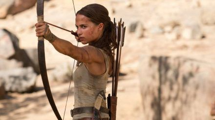 "Alicia Vikander als Lara Croft in ""Tomb Raider"" (wag/spot)"