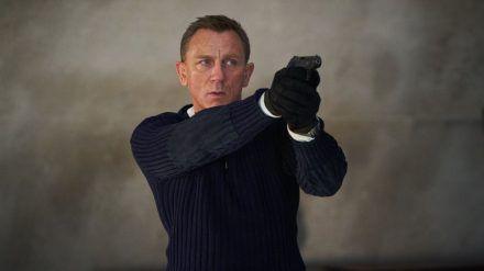 Daniel Craig gibt sich ein letztes Mal als James Bond die Ehre. (cos/spot)