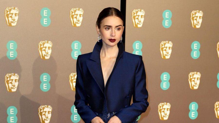 """Lily Collins war zuletzt im Netflix-Hit """"Emily in Paris"""" zu sehen. (wag/spot)"""