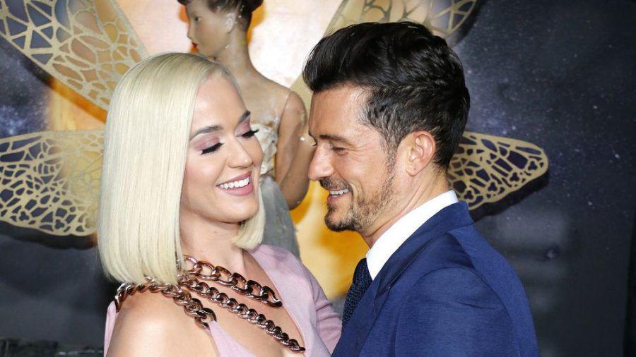Katy Perry und Orlando Bloom gemeinsam auf einem Event in Hollywood (wue/spot)