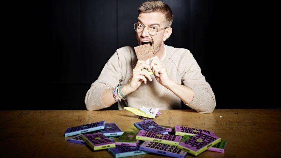 "Schoko-Fan Joko Winterscheidt bringt die ""Jokolade"" auf den Markt. (jom/spot)"
