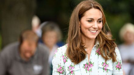 Herzogin Kate hat über ihr Familienleben im Lockdown geplaudert. (jom/spot)