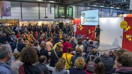 Letztmals konnte die Leipziger Buchmesse 2019 ausgetragen werden (stk/spot)
