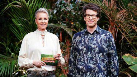 """Sonja Zietlow und Daniel Hartwich hatten Spaß an der """"Dschungelshow"""". (cos/spot)"""