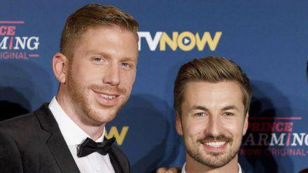 Nicolas Puschmann (re.) und Lars Tönsfeuerborn sind wieder ein Paar. (cos/spot)