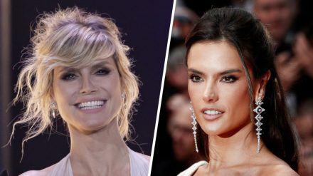 """Heidi Klum setzt in """"GNTM"""" einmal mehr auf die Expertise von Model Alessandra Ambrosio. (cos/spot)"""