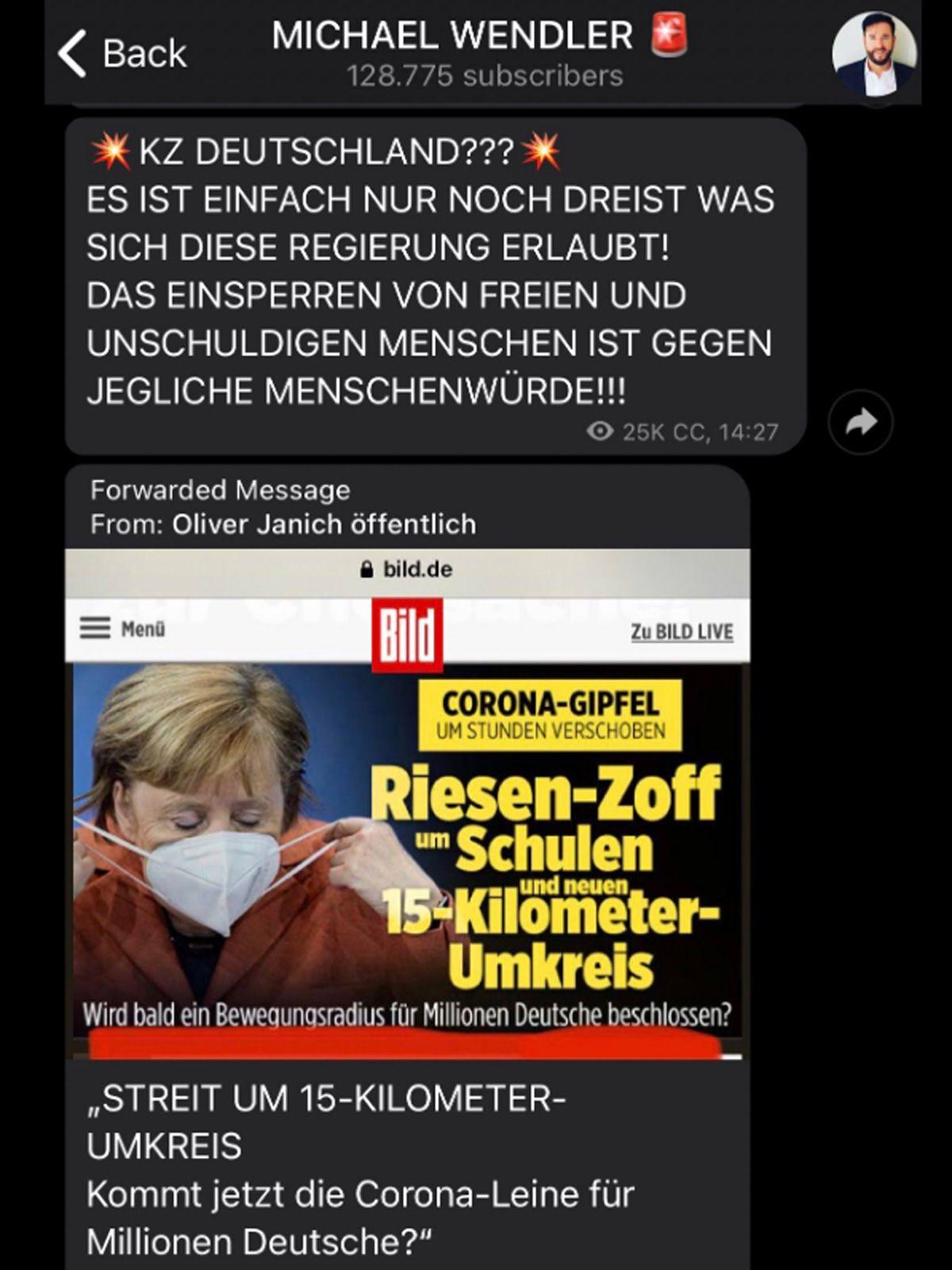 """Michael Wendler hat mit """"KZ Deutschland"""" den Bogen weit überspannt!"""