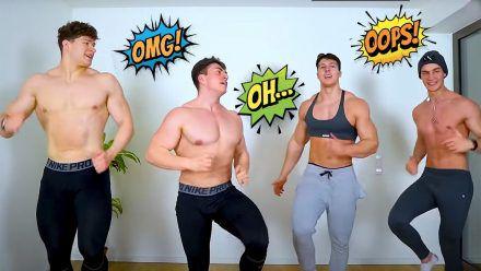 Video: Pamela Reif bittet zum Tanz und diese Herren treten an