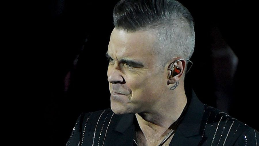 Robbie Williams plant Rachesong