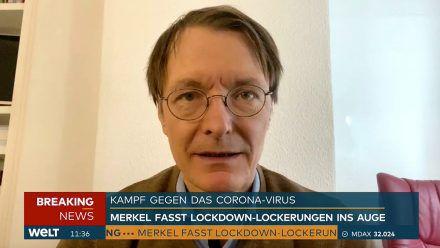Hiobsbotschafter Karl Lauterbach kündigt dritte Welle an