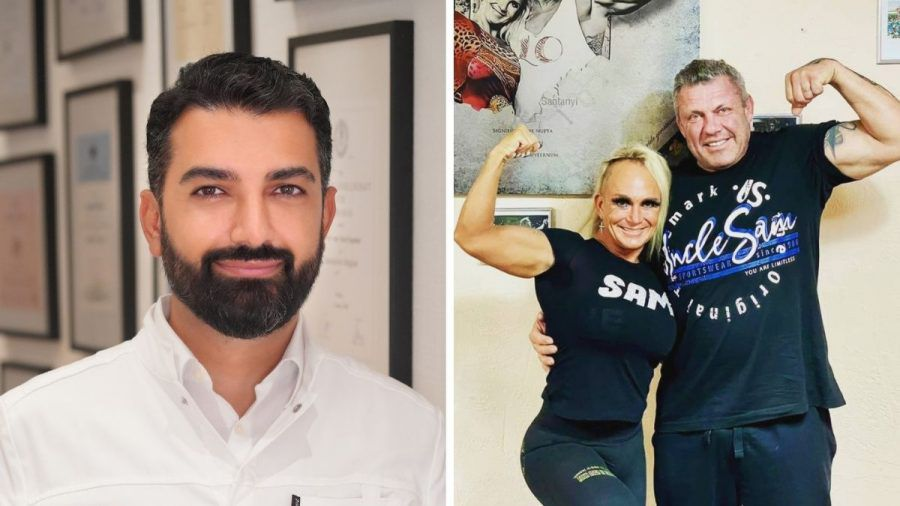 Caro und Andreas Robens machen Promi-Doc Dr. Dagdelen fit