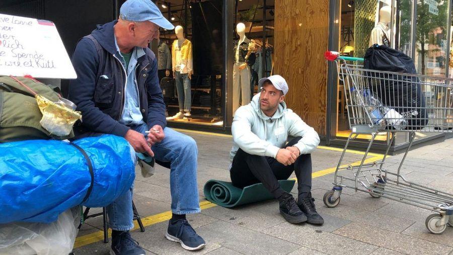 """Tobi Wegener ist jetzt """"Prominent und obdachlos"""""""