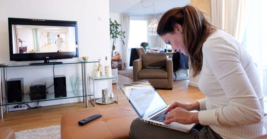 27 Prozent der Stromkosten eines Haushaltes gehen laut Branchenstatistiken in die Informationstechnik - also Geräte wie Fernseher und Notebook.