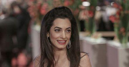 Amal Clooney 2016 auf der Berlinale.