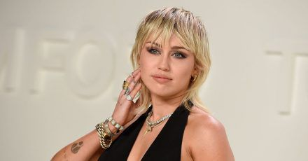 Miley Cyrus bei der Tom-Ford-Show 2020 in New York.