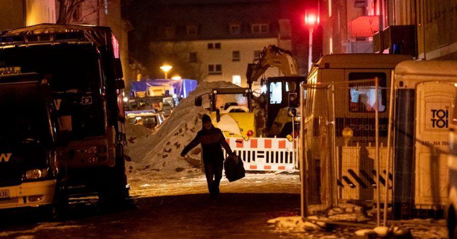 Baustelle in der Pohlestraße in Berlin-Köpenick.