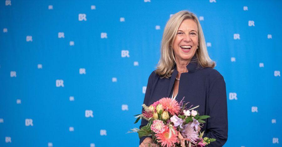 Katja Wildermuth, die neue Intendantin des Bayerischen Rundfunks (BR), nach der Wahl.