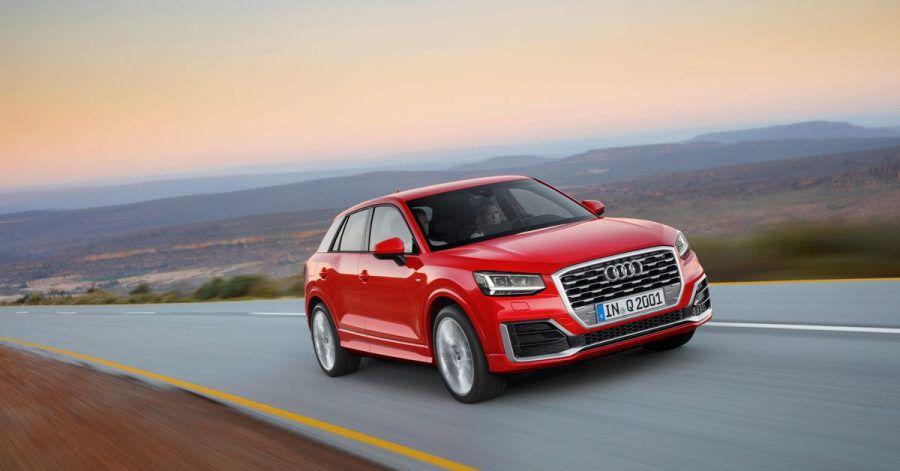 Einstiegsmodell: Mit dem kleinen Q2 startet Audi aktuell seine SUV-Palette.