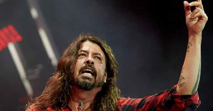Foo-Fighters-Frontmann Dave Grohl  beim Festival Rock am Ring 2018.