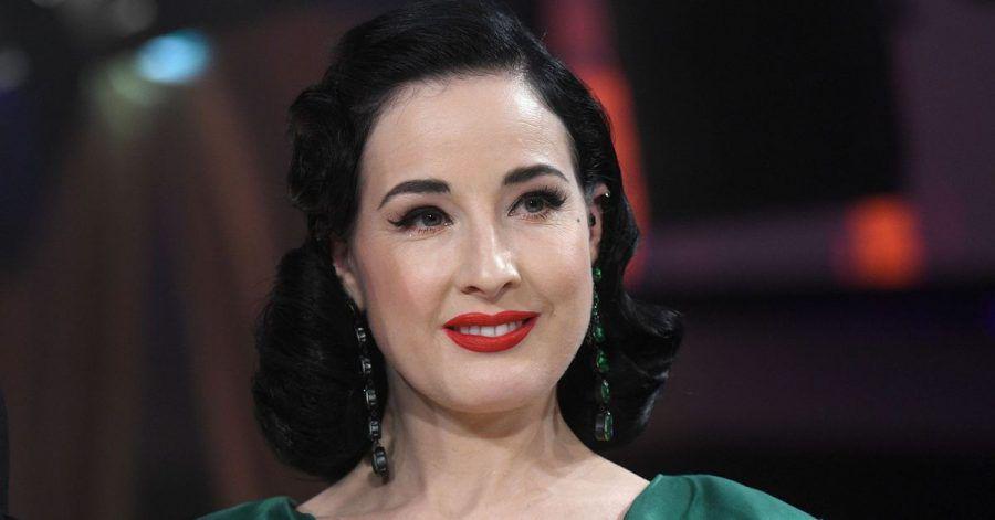 Die Tänzerin Dita von Teese kann nicht von  Missbrauch in ihrer Beziehung mit Marilyn Manson berichten.