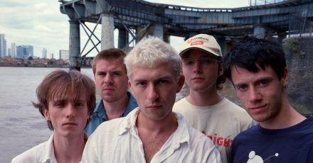 Mit ihrem Album «Drunk Tank Pink» liegen Shame auf Platz 6 der Vinyl-Charts.