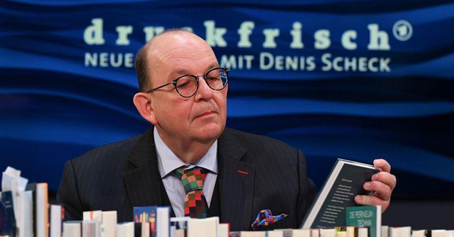 Denis Scheck hat sich mit Barack Obama unterhalten.