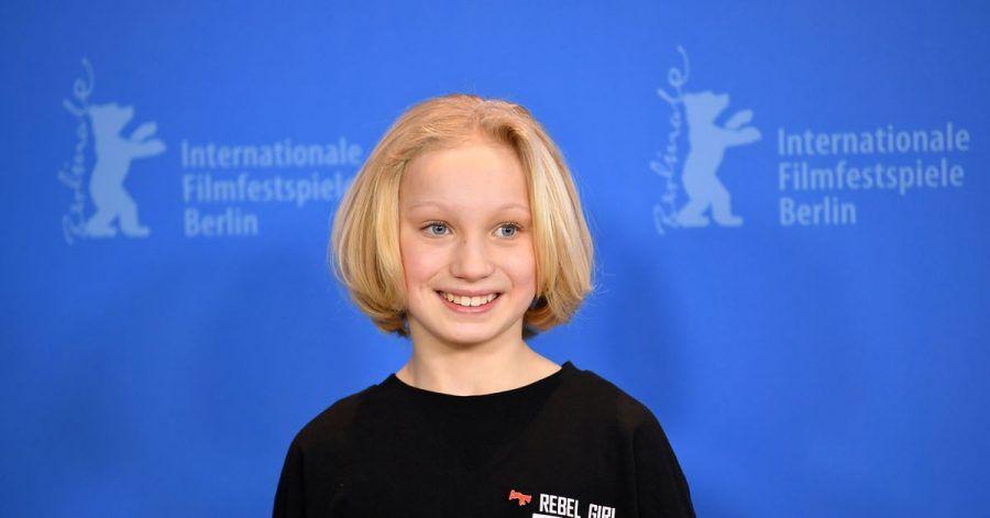 Nach den Golden Globes jetzt die SAG-Awards:Helena Zengel.