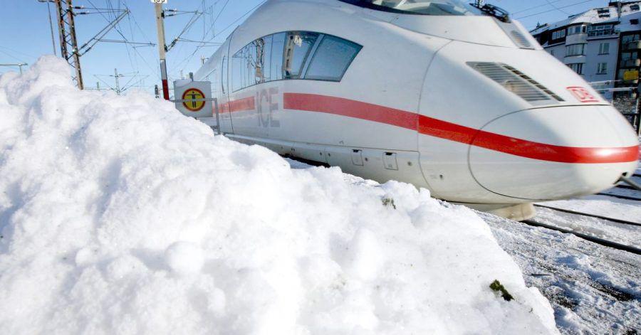 Wegen starken Schneefalls kann es amWochenende in Norddeutschland zuEinschränkungen im Bahnverkehr kommen.