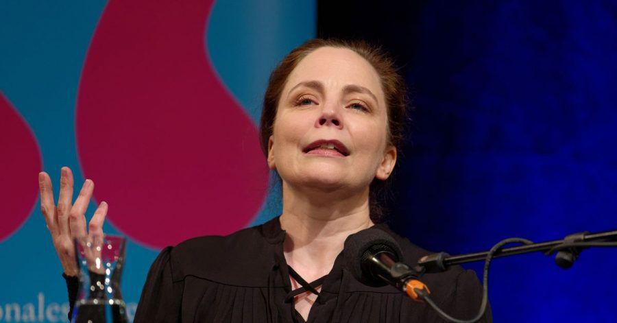 Die Autorin Thea Dorn für innere Freiheit.