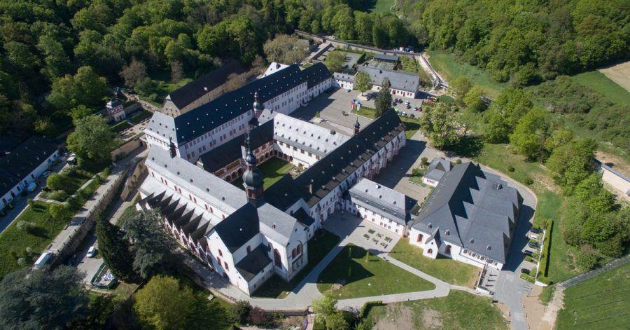 Die Anlage von Kloster Eberbach.