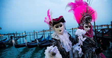 Karneval in Venedig (2018).