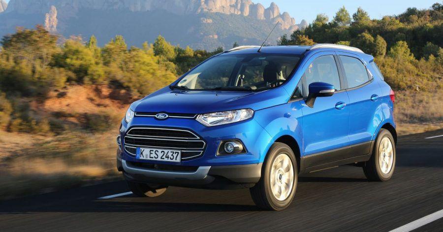 Kleiner Hochsitz: Mit dem Ecosport hat Ford seit 2014 auch ein kleines SUV im Programm.