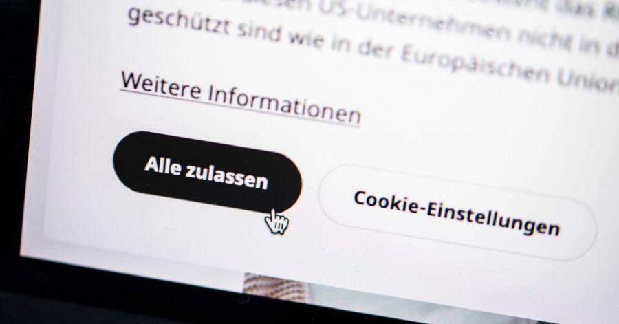 Alles zulassen? Lieber nicht! Bei der Cookie-Zustimmungsabfrage auf Webseiten sollten Nutzerinnen und Nutzer sich einen Moment länger Zeit nehmen.