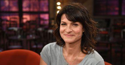 """Marlene Lufen 2018 nach der Aufzeichnung der WDR-Talkshow """"Kölner Treff""""."""