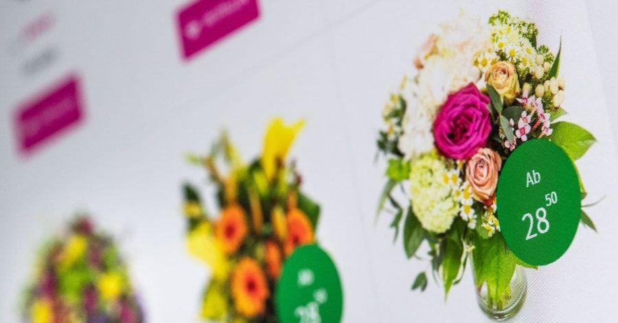 Blumensträuße kann man auch in Online-Shops bestellen. Das gesetzliche Widerrufsrecht gilt hier aber nicht.