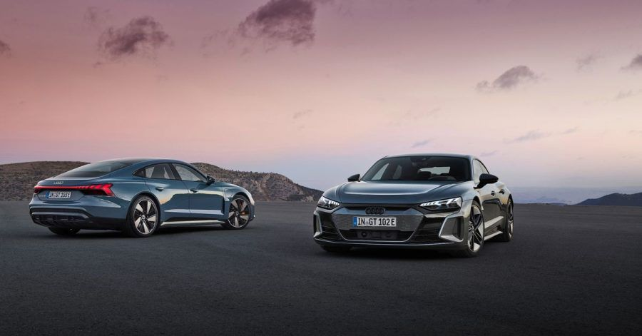 Fließende Formen: Audi bringt als weiteres E-Auto neben den Geländewagen nun auch die Limousine GT in der E-Tron-Familie an den Start.