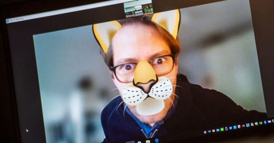 Mehr Spaß in der Videokonferenz: Teilnehmer an Zoom-Calls können für sich jetzt solche Tier-Filter einblenden.