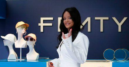 Rihanna stellte die erste Kollektion ihres Modelabels «Fenty» in Paris 2019 vor.