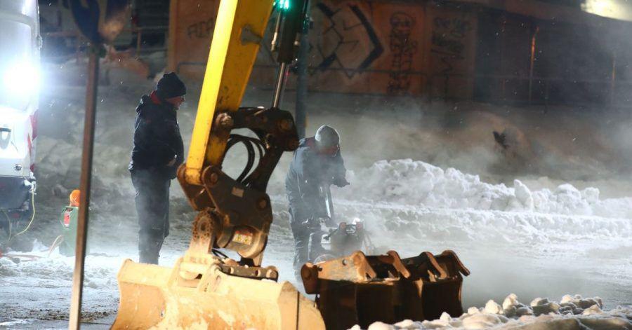 Nach der Havarie einer Leitung sind in Jena rund 6500 Haushalte ohne Versorgung mit Fernwärme.