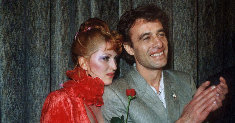Die Schauspielerin Cleo Kretschmer und ihr Entdecker, der Regisseur Klaus Lemke (1979).