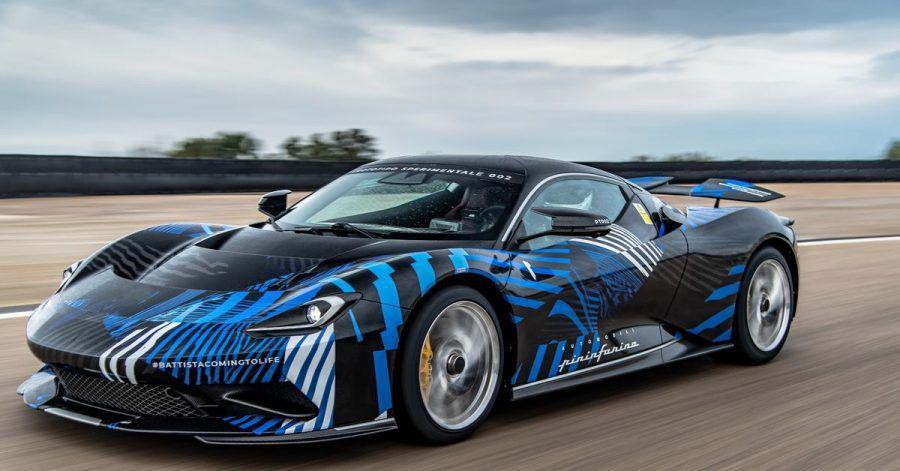 Sause unter Strom: Mit 1900 PS und 350 km/h Höchstgeschwindigkeit geht der elektrische Pininfarina Battista in einer Auflage von 150 Stück in Produktion.