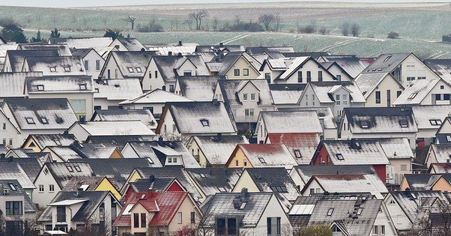 In der Corona-Pandemie sind Eigenheime immer mehr gefragt.