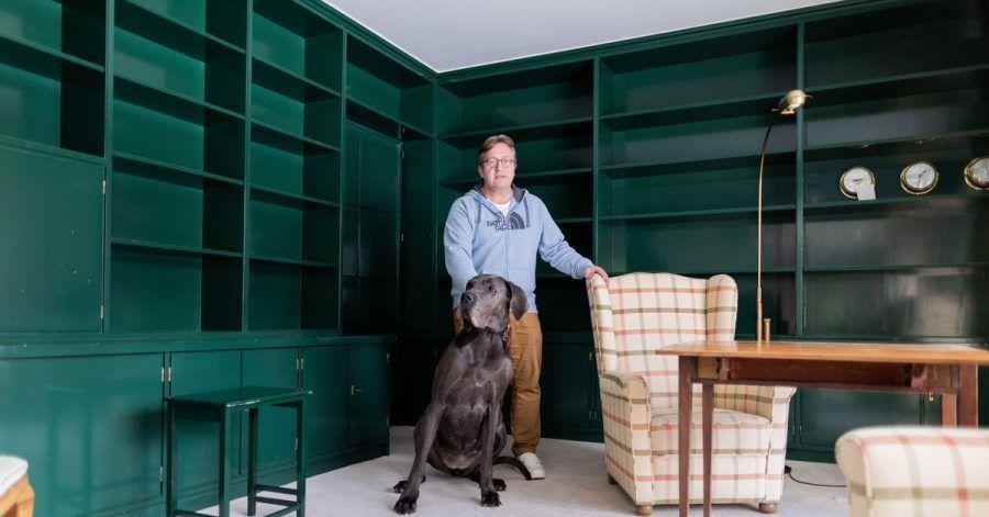 Eigentümer Guido Arends wehrte sich gegen die Aufnahme seines Hauses in die Denkmalliste.