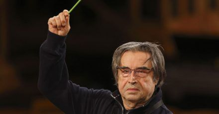 Der Dirigent Riccardo Muti setzt sich für die Kultur Italiens ein.